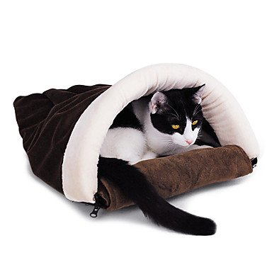 Quick shopping Arch-style Kitty Sleeping Warm Cozy Bag for Pets Cats
