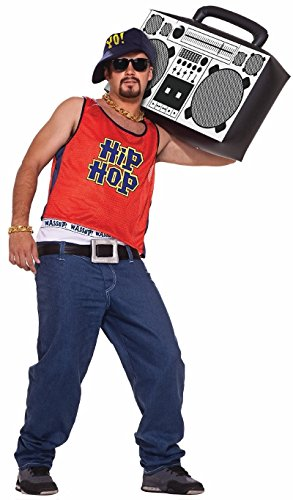 [80s Hip Hop Home Boy Adult Halloween Costume Size Standard] (80s Costumes For Boys)
