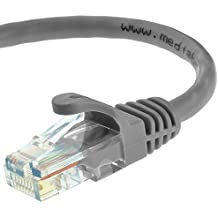 Mediabridge Ethernet Cable (100 Feet) - Supports Cat6 / Cat5e / Cat5 Standards, 550MHz, 10Gbps - RJ45 Computer Networking Cord (Part 31-199-100B)