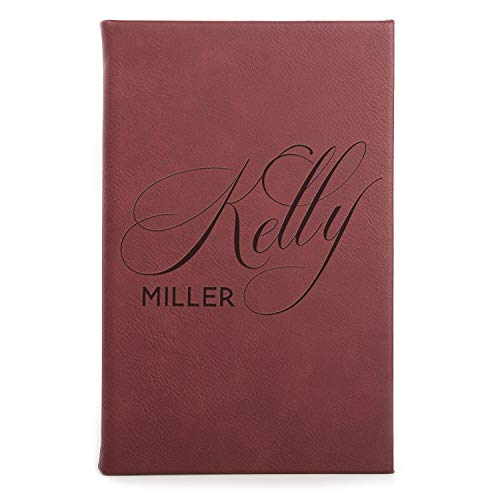 Personalized Notebook Custom Journal for Travel Writers Women