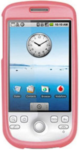 (Amzer Rubberized Snap-On Crystal Hard Case for T-Mobile myTouch 3G/HTC Magic - Baby)