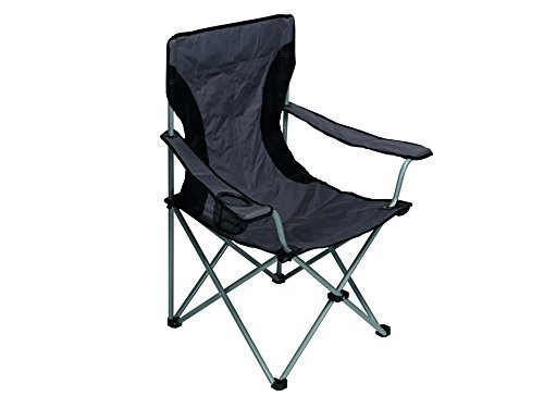Velleman Camping Chair Silla, Gris, 13x10x90 cm