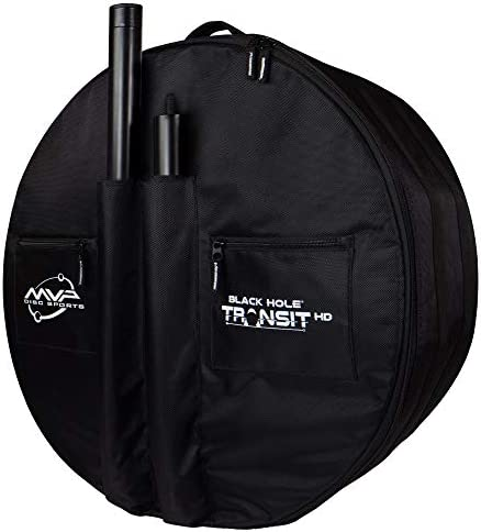 MVP Disc Sports Black Hole Pro HD Disc Golf Basket with Transit Bag