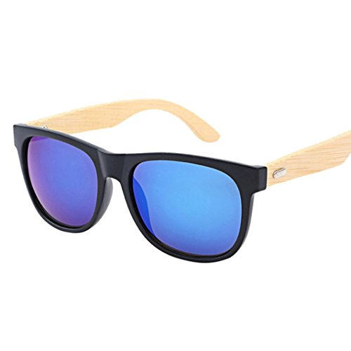 TOOPOOT Clearance Deals Glasses, Unisex Summer Bamboo Travel Glasses Outdoors Retro Sunglasses - Clearance Sunglasses