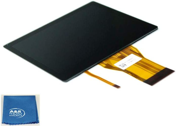 A/&R Digital LCD Screen Display for Nikon D5300 Camera Cleaning Cloth