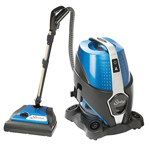 Sirena Vacuum Cleaner - Water Filtration, 2-Speed, Bagless Canister Vacuum Cleaner, Allergy/Pet Pro
