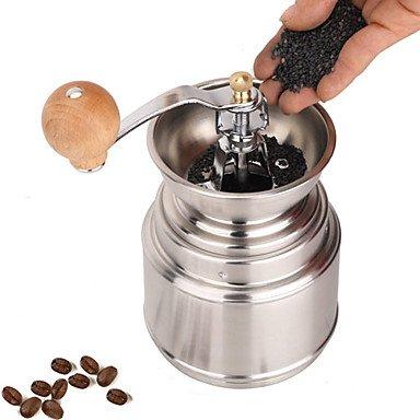Stainless Steel Muller Manual Grinder Coffee Mill