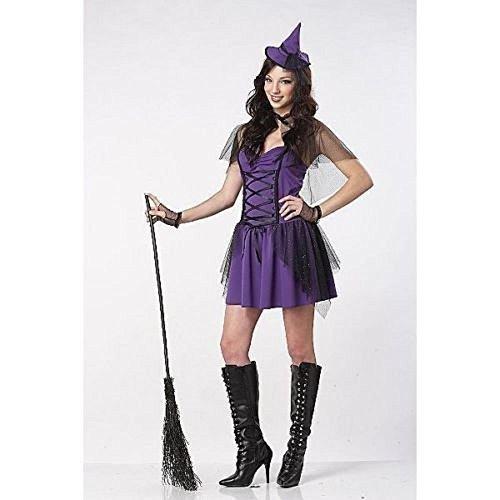 Mischievous Witch Adult Costumes (Mischievous Witch Juniors Costume Medium)