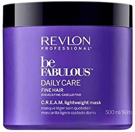 Revlon Be Fabulous Daily Care Mascarilla para Cabello Fino 500 ml