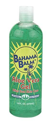 (Pack of 12) Bahama Balm Aloe Vera Gel After Sun Skin Care, 16oz