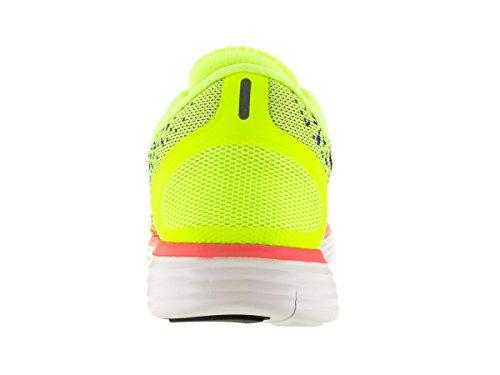 Nike Menns Gratis Rn Avstand Volt / Black / Prsn Vlt / Hypr Orng Løpesko 12,5 Mennene Oss
