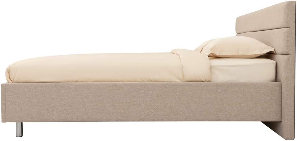 Altura 100 cm, Sleep8 Sleep.8 Cama con Canap/é con LM 135 190 Lema Fabric Iris 511 Longitud 202 cm