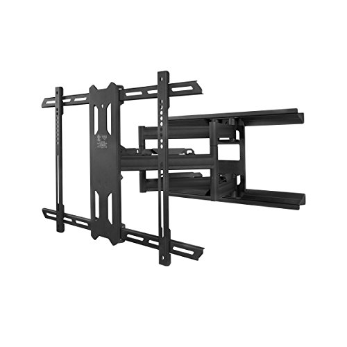 Kanto Full Motion Flat Panel TV Mount, Black (PX600)