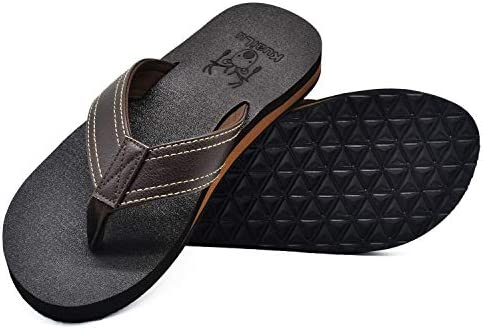 KUAILU Leather Flops Sandals Support product image
