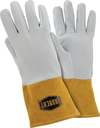 West Chester IRONCAT 6130 Premium Split Deerskin Leather TIG Welding Gloves: Small, 1 Pair