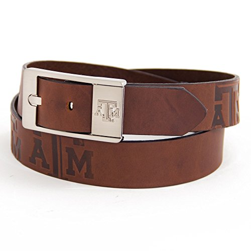 Eagles Wings Texas A&M University Brandish Leather Belt - Eagle Am