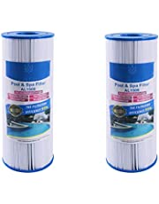 Alford & Lynch Replacement for Dynamic 03FIL1600, Pleatco PRB50-IN, Filbur FC-2390, Unicel C-4950 Filter Cartridge for Dynamic Pool and Spas (2)