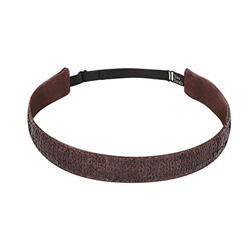 Lining Slip (Bani Bands Women's Sequin Adjustable Headband with Non-Slip Lining, Bronze)