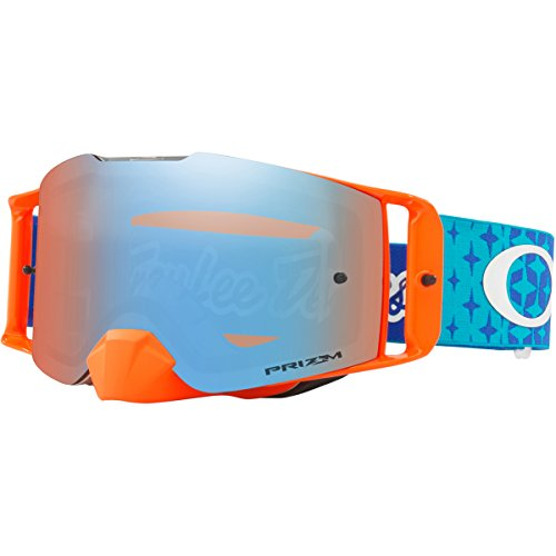 Oakley FL MX TLD Starbusrt BlueOrg with PzmMXSphr unisex-adult Goggles (Blue, Large), 1 - Oakley Design Latest