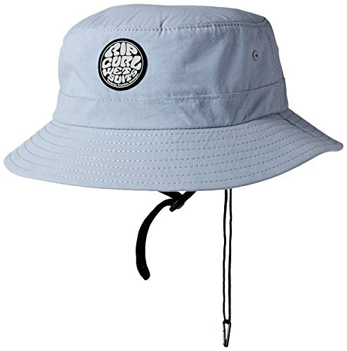 (Rip Curl Men's Wetty Surf Hat, Gray, 1SZ)