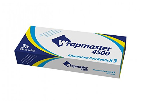 Wrapmaster 1000 4500 muy fuerte pantalla de aluminio para ...