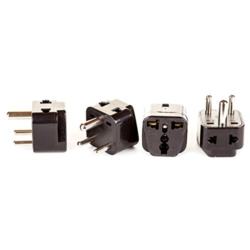 OREI 2 in 1 USA to India Adapter - Plug Adaptor India