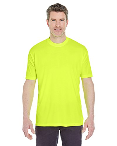 T-shirt Bright Yellow (Moisture-wicking men's cool and dry sport performance tee. (Bright Yellow) (X-Large))