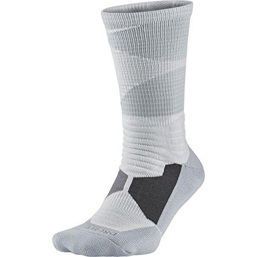 Nike Mens Hyper Elite Disruptor Basketball Crew Socks (Sm...