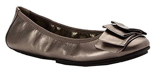 Ballet Too Pewter Lilyana Women's Me Flat CUAOqCw