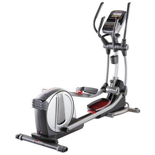 41IfstBKvZL - Pro-Form PFEL19914 Smart Strider 935 iFit Enabled Elliptical with Touchscreen Display 24 Resistance Levels 30 Workout Apps iPod Music Port CoolAire Workout Fan Transport Wheels and SpaceSaver