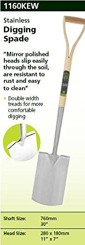 Spear & Jackson Kew Collection Stainless Digging Spade