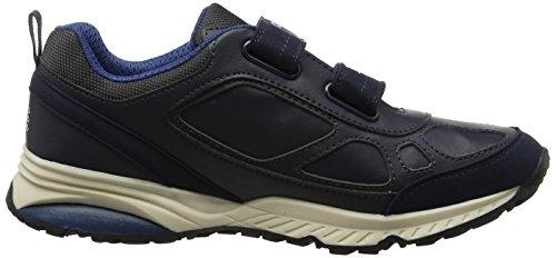 Geox J Bernie C, Zapatillas Unisex Adulto Azul (Navy/blue)