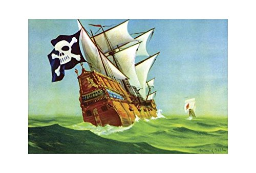poster prints of pirate ships
