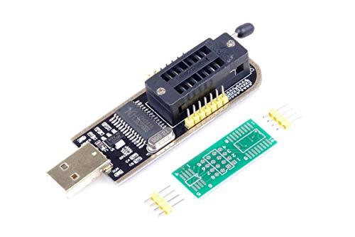 Flash Bios Chip - USB Programmer CH341A Series Burner Chip 24 EEPROM BIOS Writer 25 SPI Flash AE1185