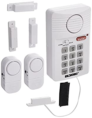 U.S. Patrol JB7389 Home Security Alarm System Fast and Easy