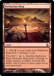 Magic: the Gathering - Barbarian Ring - Premium Deck Series Fire & Lightning - Foil