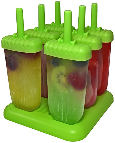 Cooluli Popsicle Mold Washable Reusable