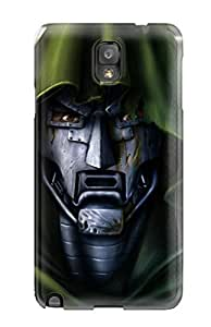 Slim Fit Tpu Protector Shock Absorbent Bumper Doctor Doom Case For Galaxy Note 3