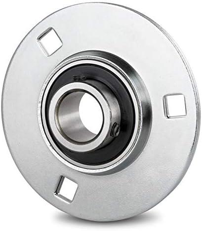 DOJA Industrial | Rodamientos con Soporte de Chapa BPF 30 Cojinete ...