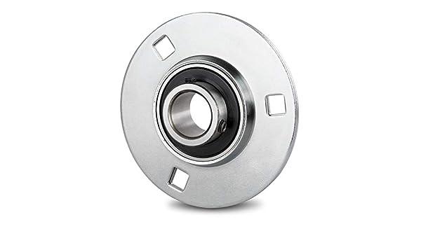 DOJA Industrial | Rodamientos con Soporte de Chapa BPF 35 Cojinete ...