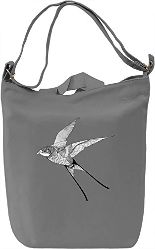 Bird Borsa Giornaliera Canvas Canvas Day Bag| 100% Premium Cotton Canvas| DTG Printing|