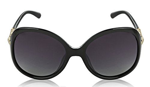 Black Sunglasses For Women Oversized Polarized Sunglasses Butterfly Framed - Framed Glasses Large