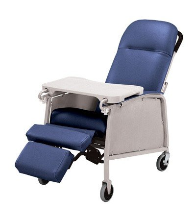 Lumex Three Position Recliner: Lumex Three Position Recliner Blue Ridge (Three Recliner Position)