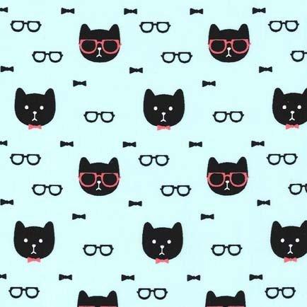 Tela de gato - 0,5 Metre - gatos en blanco - MM 492 - gato Dappper por Michael Miller - 100% de algodón: Amazon.es: Hogar