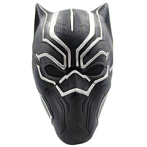 Rwdacfs Halloween mask,Role-Play Prop Latex Panther -