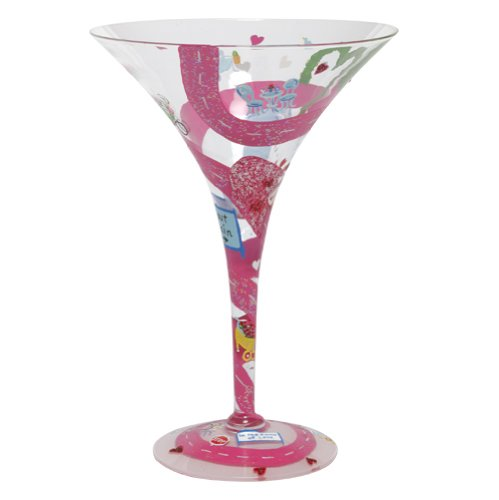Lolita Love My Martini Glass, Lovers' Lane Lovers' Lane GLS4-5555A