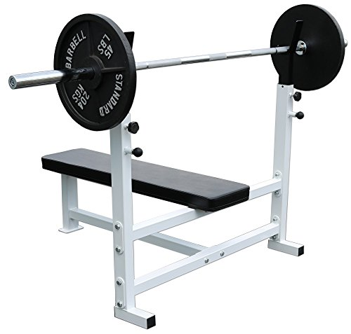 Deltech Fitness Flat Olympic Weight Bench by Deltech Fitness (Image #1)