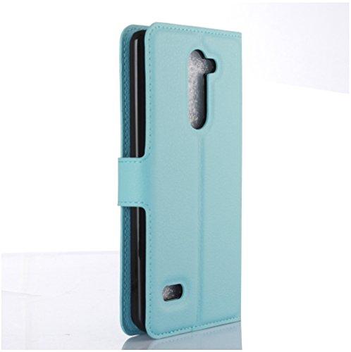 Funda LG-RAY /LG X190,Manyip Caja del teléfono del cuero,Protector de Pantalla de Slim Case Estilo Billetera con Ranuras para Tarjetas, Soporte Plegable, Cierre Magnético E