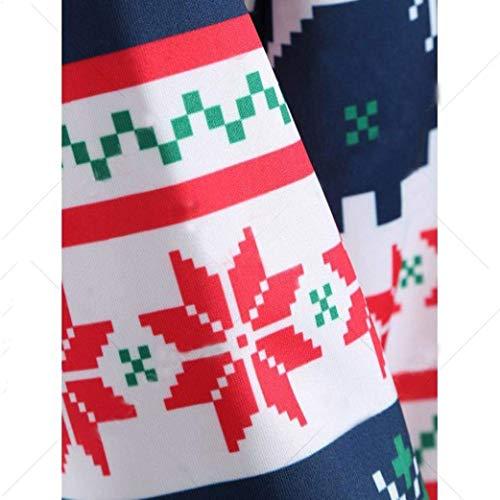 Natale Natale Natale Maglia Manica Invernali Battercake Battercake Battercake Felpa Casuale Purple Cappuccio Felpa Cappuccio Donne Cappuccio Autunno Felpe con Sciolto Eleganti Pullover con Lunga Moda Stampato Natale Felpa di Donna dqXffaE