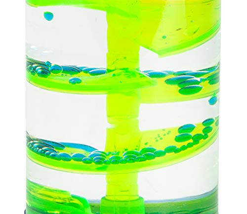 Hypnotic Liquid Motion Spiral Timer for Sensory Play, Relaxing